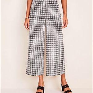 Ann Taylor Tweed Marina Pants